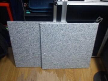 インシュレーターの代わりに 御影石 1枚 300×300×10