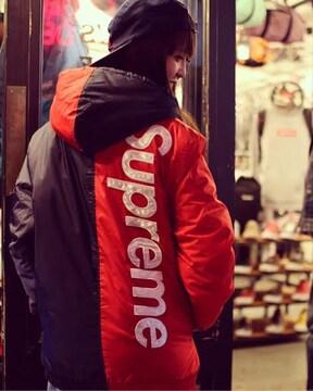 シュプリーム 2-Tone Hooded Sideline Jacket S