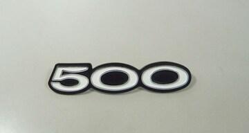 カワサキ 500SS H1E H1F サイドカバー・エンブレム 絶版新品