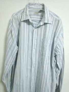 L.Lビーン ストライプシャツ 2枚セット