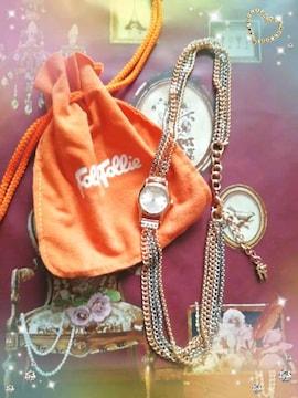 新品☆フォリフォリ*ブレスレット腕時計