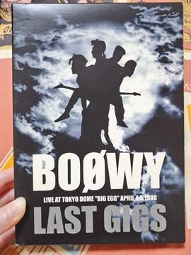 BOOWY LAST GIGS DVD