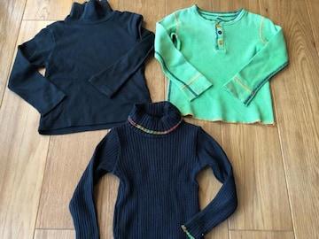 値下げ!シンプル!ブーフーウー長袖Tシャツ セーター100 110