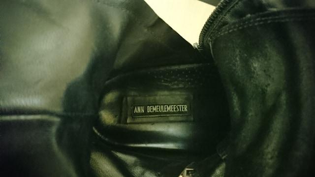 アンドゥムルメステール ANN DEMEULEMEESTER スニーカー ブーツ レザー < ブランドの