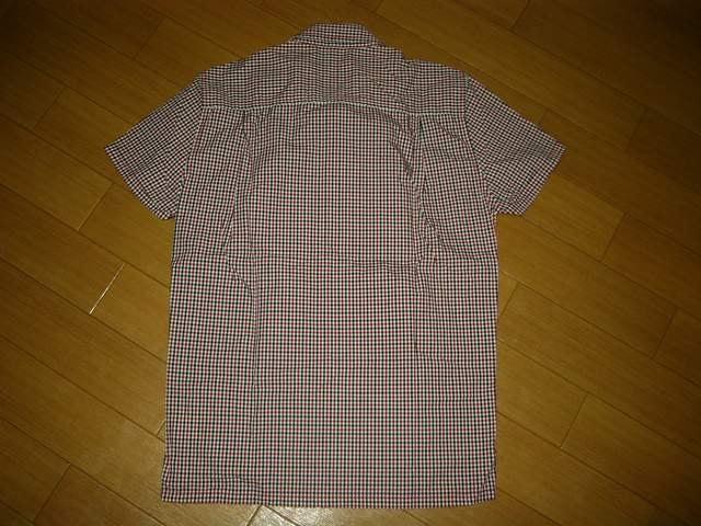 グラムglambギンガムチェックシャツ2赤系クロス柄半袖英国 < ブランドの