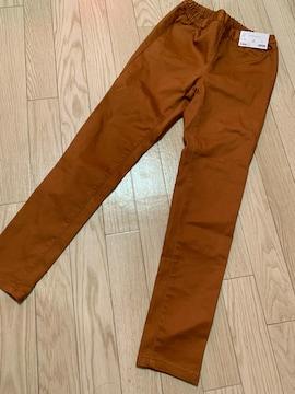 N465/G.U/Sサイズ/クロップドレギンスパンツ/ブラウン/
