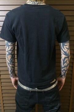 即決BLACKKATカスタムTシャツ!ホットロッドラッキー13マイクネスタトゥーsocialdistortion