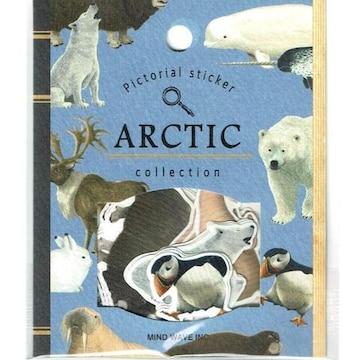 ★フレークシール★Pictorial 2☆ARCTIC 北極の動物★30ピース