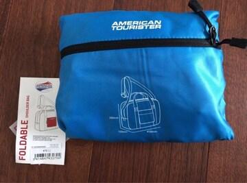 アメリカンツーリスタ折り畳みショルダーバッグ!新品未使用