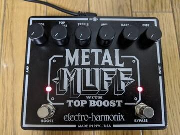 ELECTRO-HARMONIX METAL MUFF メタル・ディストーション