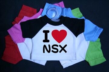 I LOVE ミニTシャツ NSX 各色有り