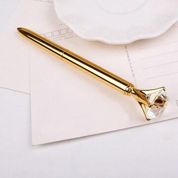 クリスタル ダイヤモンド ボールペン ノーブルゴールド 1/AGG