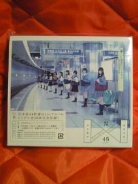 乃木坂46 1st アルバム 透明な色 type B CD 初回限定 フォトブック