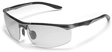 変色調光サングラス 偏光サングラス スポーツサングラス 紫外線