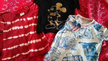 3点set★Mickey&LAGKAW&カジュアルTシャツ size100