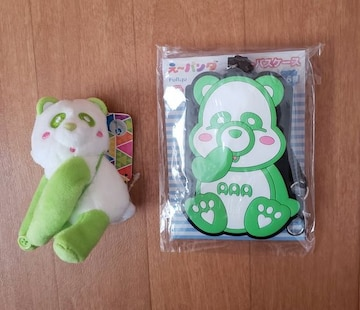 非売品!AAAえ〜パンダ★浦田直也★パスケース&マスコット