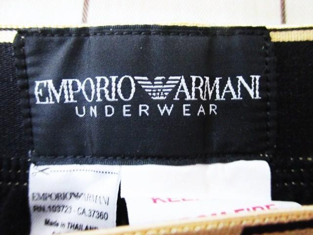 ☆EMPORIO ARMANI エンポリオアルマーニ イージーパンツ コットンパン/メンス/M < ブランドの