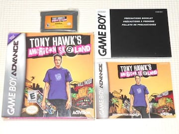 GBA★TONY HAWK'S AMERICAN SK8LAND 海外版(国内本体動作可能)