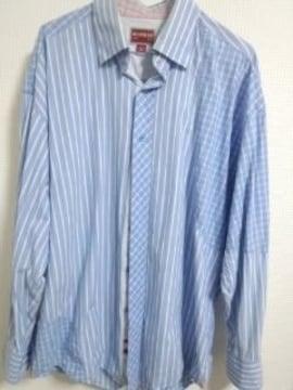 トミー デザインストライプシャツ L