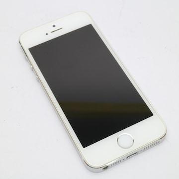 ●安心保証●超美品●au iPhone5s 32GB シルバー●白ロム