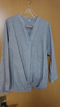 LL / 綿100%ギンガムチェックシャツ