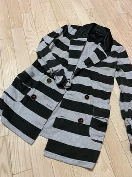 N426/MEO/ブラック×グレー/長袖/ジャケット/