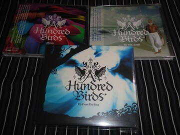 A HUNDRED BIRDS アルバム3枚セット (SUIKA,タケウチカズタケ