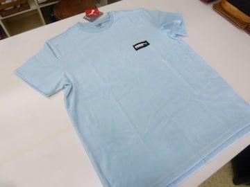 L 水色)プーマ★Tシャツ 583028 FUSION 半袖丸首 パイルタオル地