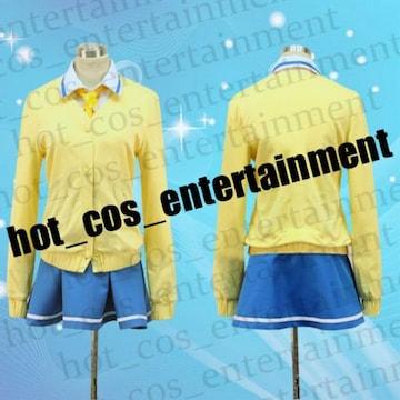 スマイルプリキュア 黄瀬やよい 制服 コスプレ衣装