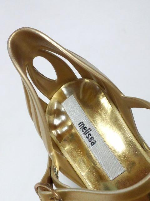 美品メリッサパンプスレインシューズサンダルコスプレダンサーブラジリアパーティ結婚式B系 < ブランドの