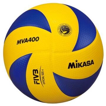 ミカサMIKASAバレーボール検定球4号 中学 ママさんバレーMVA400