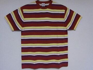 本物新品★TMTボーダーデザインTシャツ