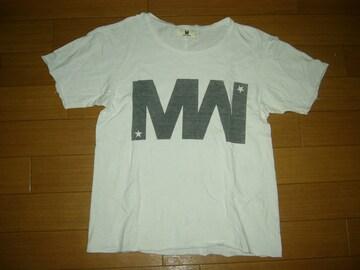 M エム × wjk カットソー S 白 ダブルジェイケイ Tシャツ TMT