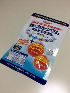 新品Drシーラボ★鉄&カルシウム マルチミネラル 43%Off  C