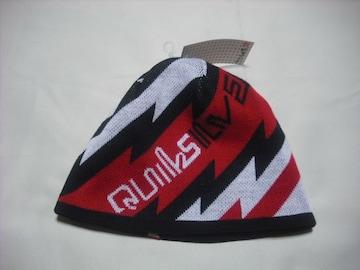 mb585 男 QUIKSILVER クイックシルバー リバーシブル ニット帽