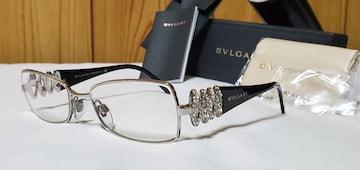 正規レア Gackt着 同型同色 ブルガリ ラグジュアリービジューサングラス黒 メガネ