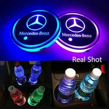 Mercedes-Benz LED 車内 カップホルダー