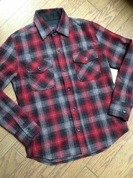 美品Men Bigi チェックシャツ メンズビギ