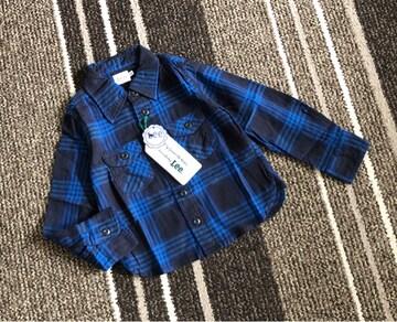 新品☆Lee(リー)キッズネルシャツ110☆