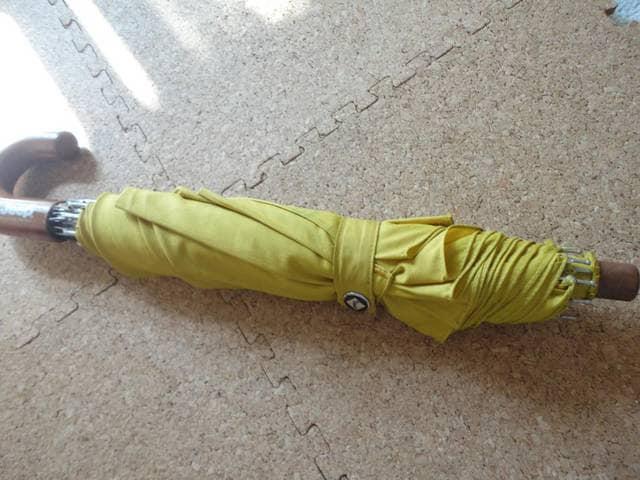 【USED】【男女兼用】 Jeep 大きめ折りたたみ傘  < 男性ファッションの