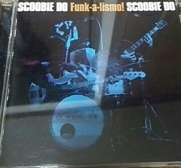 初回盤DVD付きCD SCOOBIE DO Funk-a-lismo! 帯あり スクービードゥー