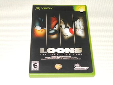 xbox★LOONS THE FIGHT FOR FAME 海外版