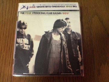 THE PINK STOCKING CLUB BAND CD BOY