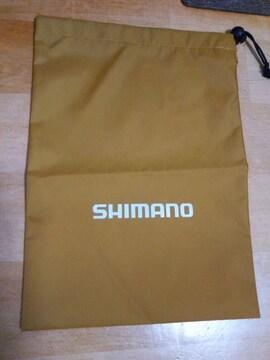 ★ SHImAno シマノ 巾着袋 ナイロン サイズ26×35�p 未使用 非売品●