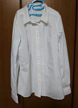 ホワイト 長袖 シャツ
