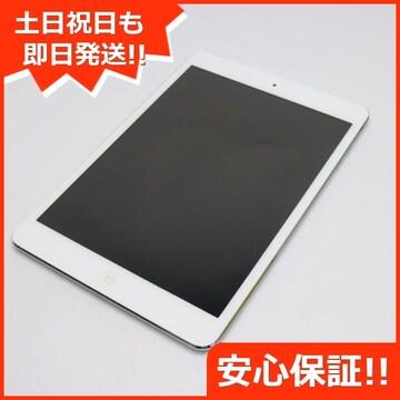 ●判定○●美品●iPad mini Wi-Fi+cellular16GB ホワイト●