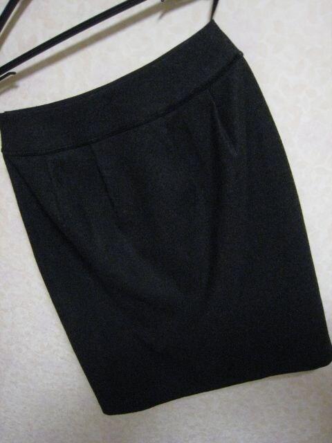 インディヴィ♪ウールスカート36サイズ濃グレー < ブランドの