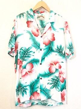 PARADISE FOUND■アロハシャツ■ハワイ製■パラダイスファウンド