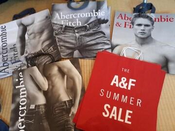 Abercrombie&Fitch アバクロ ショップ袋 大きめ