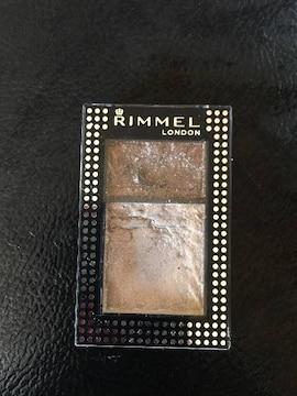 RIMMELチュアルアイカラークリーム&パウダー101残量8割
